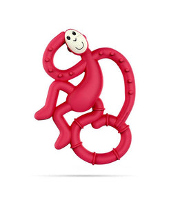 Rubine Mini Monkey Teether - Wild Atlantic Living