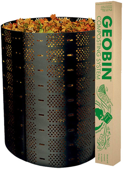 Compost Bin by GEOBIN - 216 Gallon, Expandable, Easy Assembly - Waste Not Dots