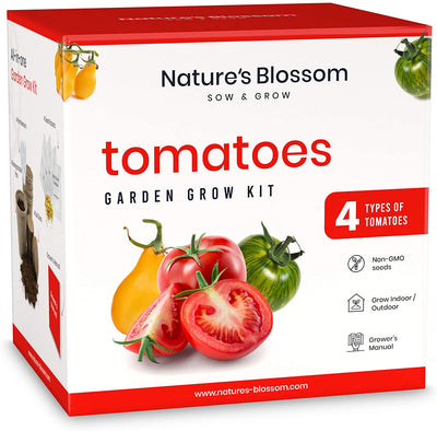 Beginner's Tomato Garden Seed Starter Kit - Waste Not Dots