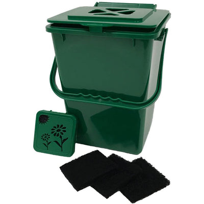 ECO-2000 Plus Kitchen Compost Waste Collector - 2.4 Gallon - Waste Not Dots