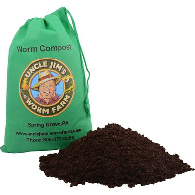"Uncle Jim's Worm Farm ""Real Worm Compost 4lbs"