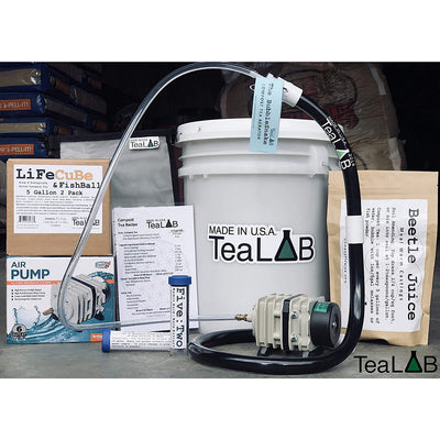 Compost Tea Brewer Kit : 5 Gallon : Bubbles other brewers out of the water