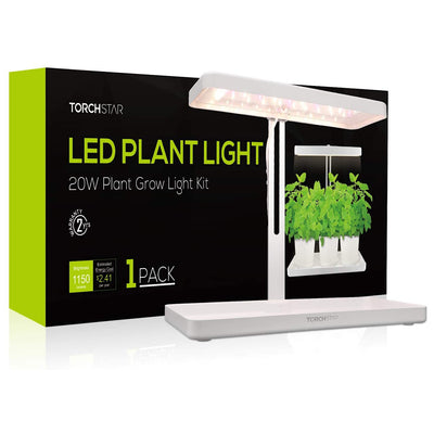 TORCHSTAR Herb & Kitchen Garden Grow Light - Waste Not Dots