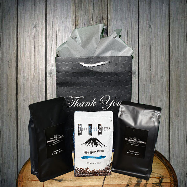 Kona Coffee Gift Flight - Kona Coffee - Kona Loft Farms