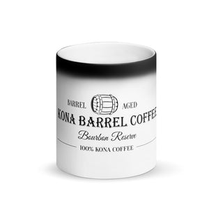 Kona Barrel Coffee - Bourbon Reserve - Color Changing Mug - Kona Coffee - Kona Loft Farms