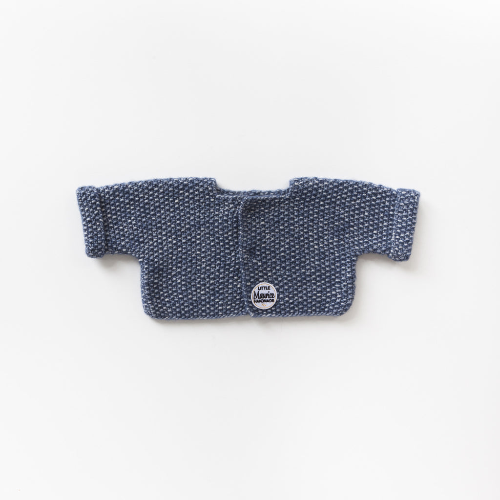 Little Maurice cardigan navy blue