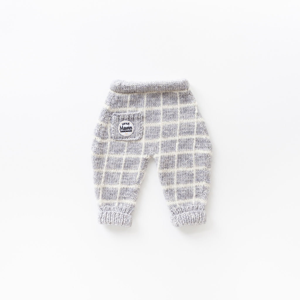Little Maurice trousers: checkerboard