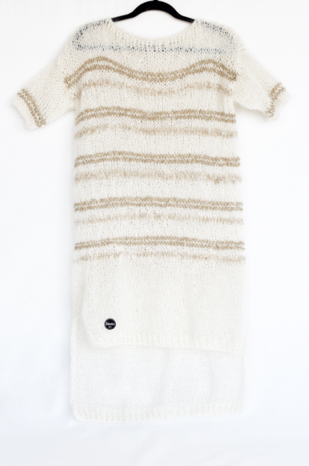 Long knitted Audrey Dress