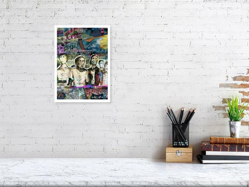 """We Die They Do Nothing"" - The Majority Action Committee - Fine art print by Jasha Bay"