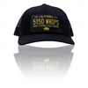 5150 Whips Black Trucker Hat w/ Patch