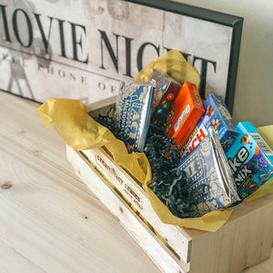 Movie Night Gift Crate