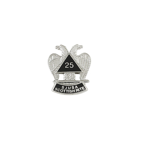 25 Year Scottish Rite Lapel Pin