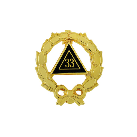 33rd Degree Ladies Lapel Pin