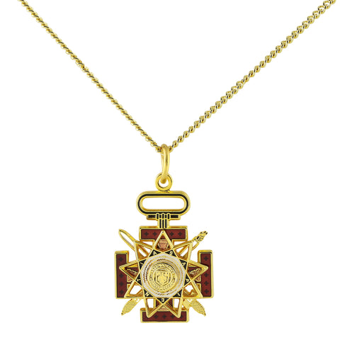 33rd Degree Pendant w/chain