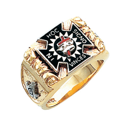 Knights Templar Ring HOM 278KT