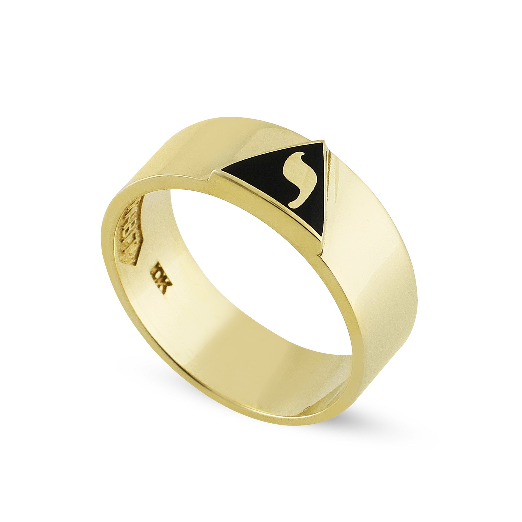 14th Degree Raised Emblem Ring
