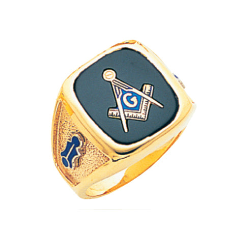 Blue Lodge Ring - MAS60987BL
