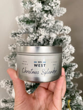 Load image into Gallery viewer, 8oz Soy Candle- Christmas Splendor