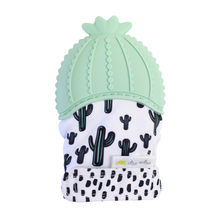 Load image into Gallery viewer, Silicone Teething Mitt- Itzy Mitt-Cactus