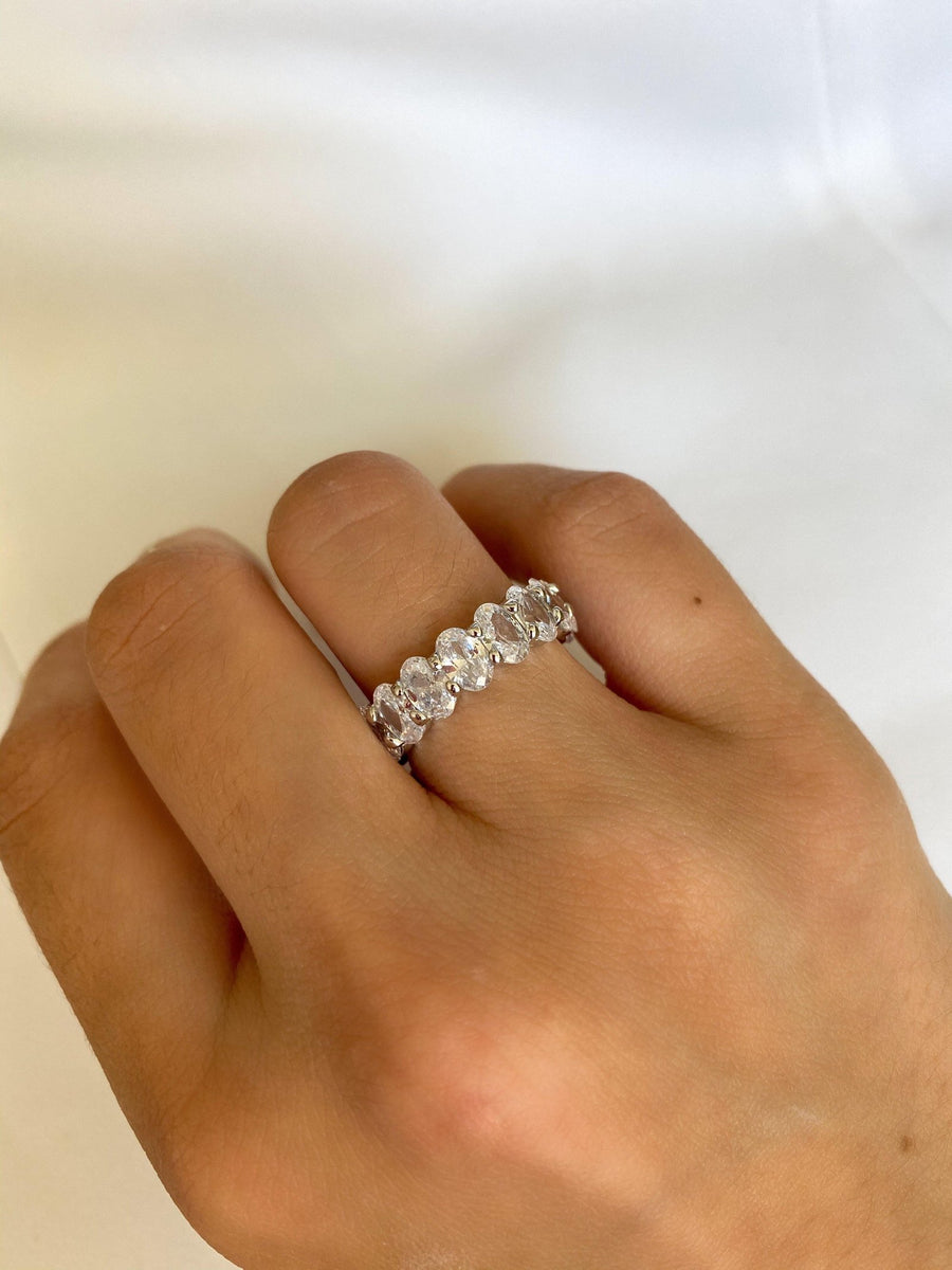 Alissa Large Oval Eternity Ring-Ring-Alissa-7-Emila-4