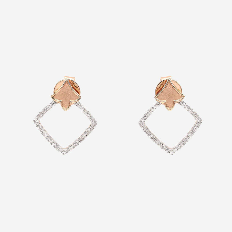 Amira Karaouli Parisienne Diamond Earrings-Earrings-Amira Karaouli-Emila-1