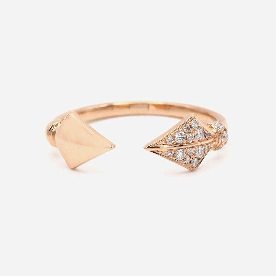 Amira Karaouli Rose Gold Warrior Princess Ring-Ring-Amira Karaouli-6-Emila-1
