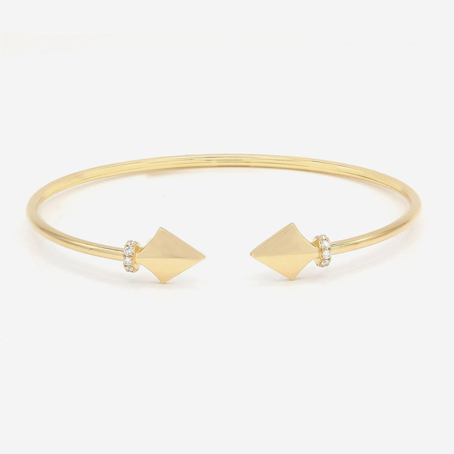 Amira Karaouli Warrior Princess Bangle-Bracelet-Amira Karaouli-Emila-1