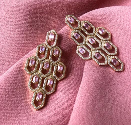 Lalou Aurelia Earrings-Earrings-Lalou London-Emila-2