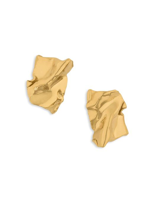 Misho Gold Flow Studs-Earrings-Misho-Emila-2
