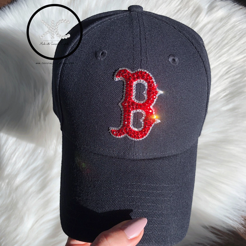Swarovski New Era Boston Hat Made with Swarovski Crystals