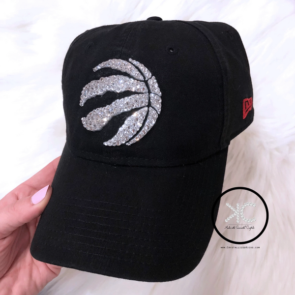 Swarovski New Era Toronto Raptors Hat Made with Swarovski Crystals