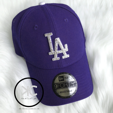 Swarovski New Era Los Angeles Dodgers Hat Made with Swarovski Crystals