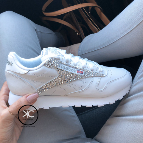 Swarovski Reebok Classic Women's Sneakers Made with Swarovski Crystals
