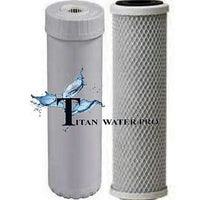 Water Filter Carbon CTO & Fluoride Arsenic Removal Filter (alumina activated) 2pc