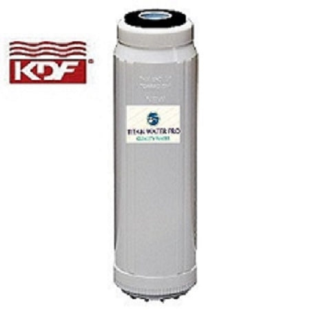 "BIG BLUE WATER FILTER/CARTRIDGE KDF55/GAC 4.5"" X 20"""