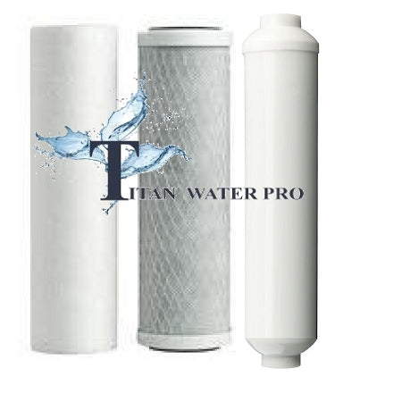 Reverse Osmosis Water Filters Replacement 4 Stage RO Systems ( 3 PC Filter set)
