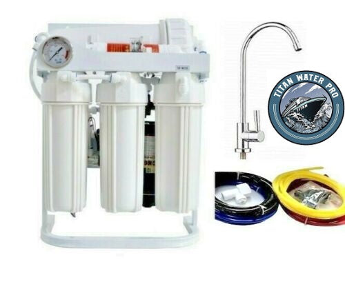 Reverse Osmosis Water Filtration System 600 GPD-Direct Flow-Booster Pump