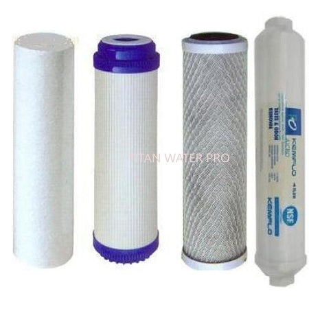RO 5 Stage Reverse Osmosis Water Filter Replacement Water FIlter Set 4 PC Set