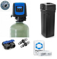 Whole home nitrate select resin, water softener 2.5 CU Ft with Brine Tank - Fleck 5812SXT