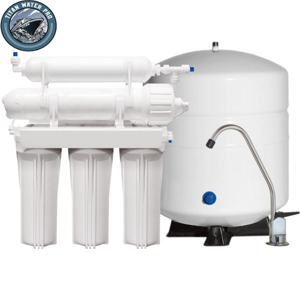 REVERSE OSMOSIS WATER FILTER SYSTEMS ALKALINE 6 STAGE 75GPD