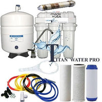 RO - Reverse Osmosis Alkaline/Ionizer Neg ORP Water Filter System 75 GPD 5 Stage 6 G Tank