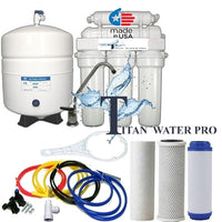 Reverse Osmosis Water Filter 6 Stage System, pH plus Alkaline - 50 GPD