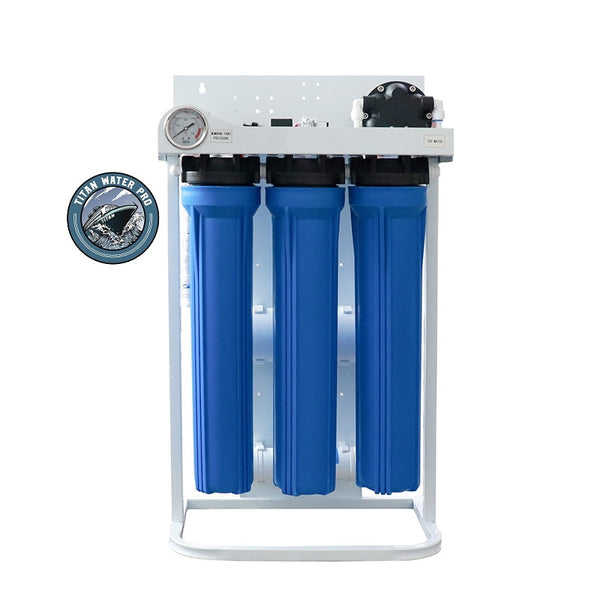 Reverse Osmosis Water Filtration System 800 GPD - 800 GPD Booster Pump