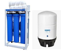 Reverse Osmosis Water Filtration - 600 GPD -Manual Flush Valve - 14 G Tank