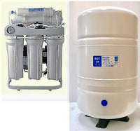 RO Reverse Osmosis Water Filter System 200 GPD - Booster Pump - 10 Gallon Tank