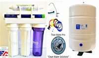 RO-Reverse Osmosis Water Filtration System 1:1 Ratio Pentair GR-EN75 - Tank 10G