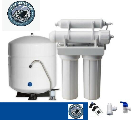 Reverse Osmosis 4 Stage RO System - No Filters or Membrane Included