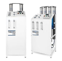 Commercial Reverse Osmosis Water Filtration System 6300-7200* GPD Frame Mounted