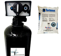 Whole House Sediment Water Filtration Filter Well/Municipal - FM20 Backwash Valve - Turbidex Media