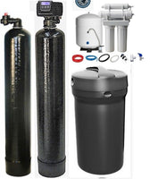 Whole House Water Filtration Carbon - Softener - Reverse Omsosis Water Filter System Bundle